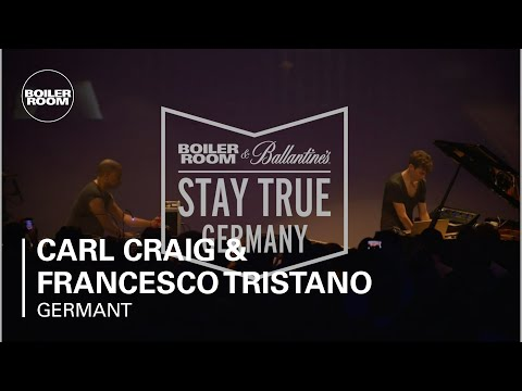Carl Craig & Francesco Tristano Boiler Room & Ballantine's Stay True Germany Live Set