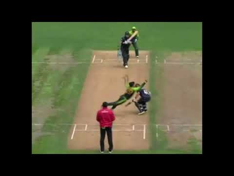 WHAT A CATCH BY SHADAB KHAN.SHADAB YOU BEAUTY.....
