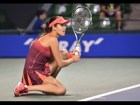 2015 Toray Pan Pacific Open Second Round WTA Highlights