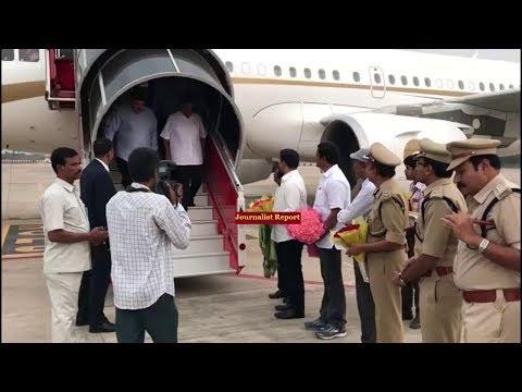 Reliance industries Chairman Mukesh Ambani Special Flight | Lokesh with Mukesh Ambani