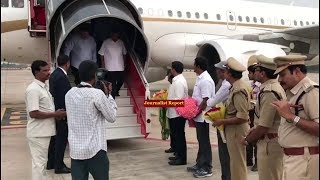 Reliance industries Chairman Mukesh Ambani Special Flight | Lokesh with Mukesh Ambani