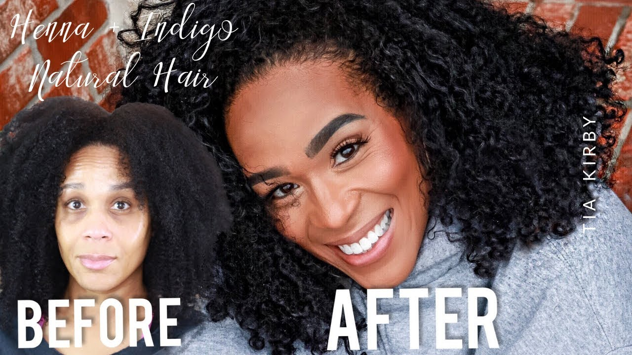 Henna Indigo How To Diy Black Hair Dye Henna On Natural Hair