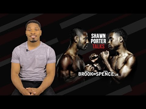 Shawn Porter Talks Brook vs Spence - May 27, 217 on SHOWTIME