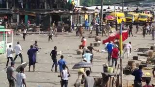 Bloody Street Fight In Lagos Nigeria