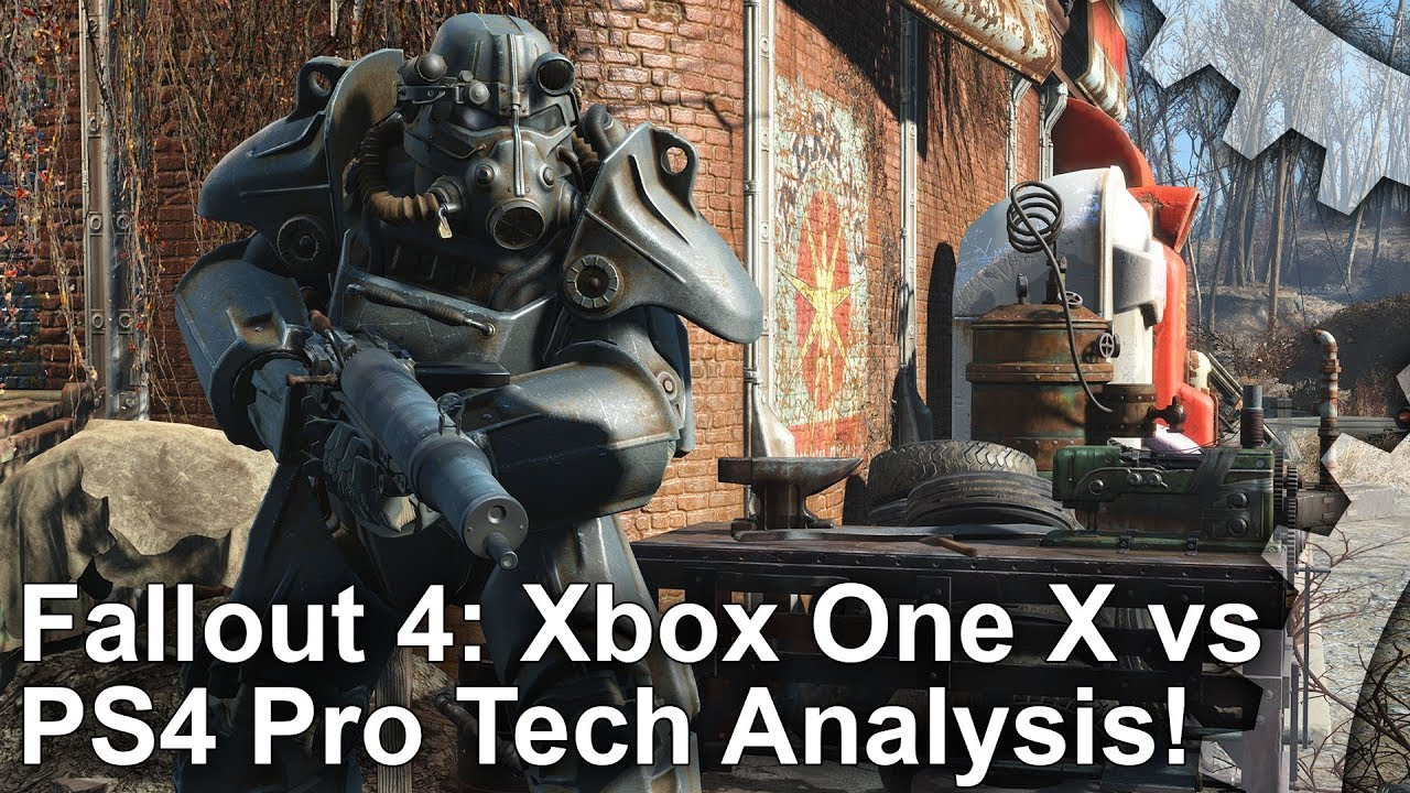 Fallout 4 achieves native 4K resolution on Xbox One X