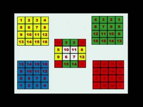 Magic Squares by Brian Hadley
