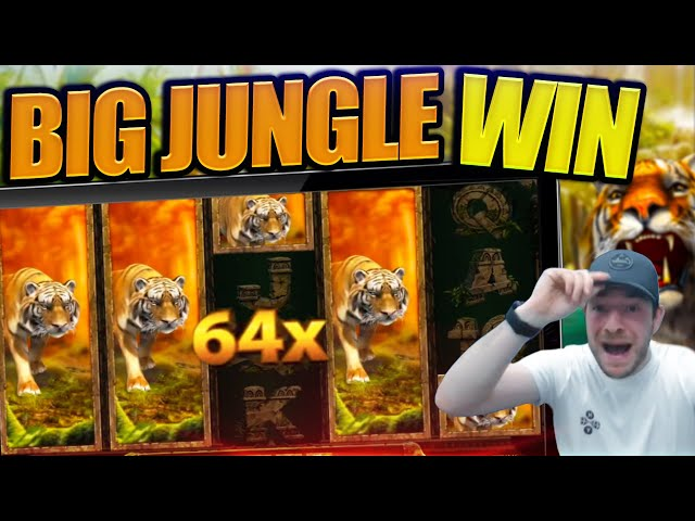 IS JOSH THE NEW TIGER KING!? Jungle Spirit Big Win!