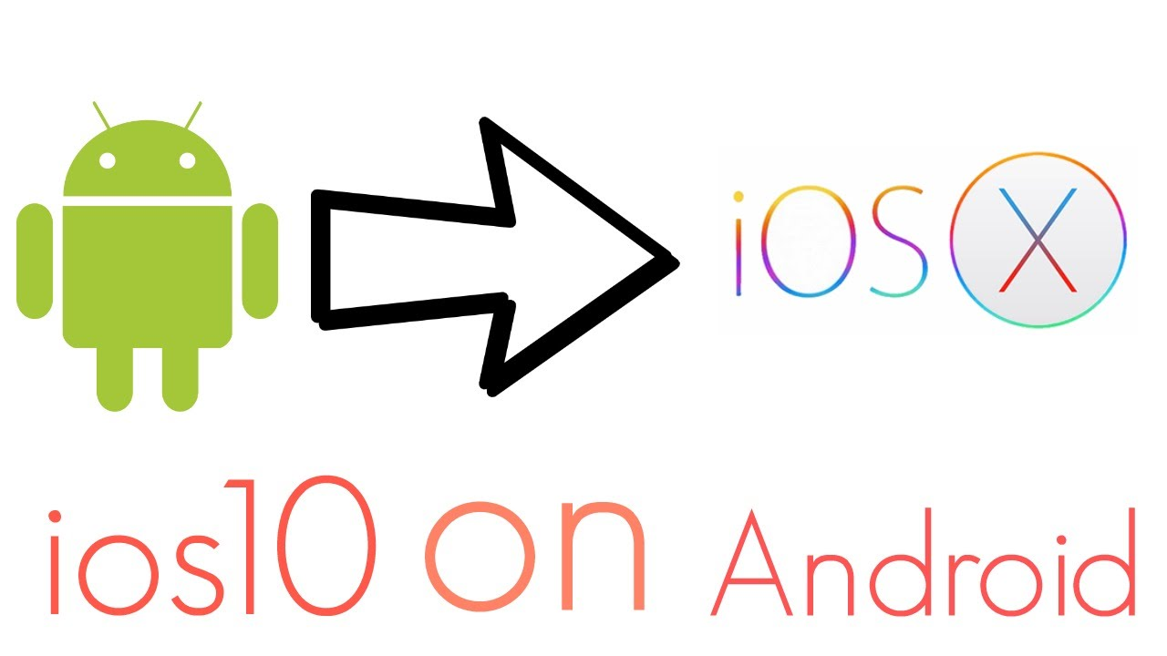 how to make ios look like android