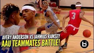 AAU Teammates GO HEAD TO HEAD ! Avery Anderson VS Jahmius Ramsey