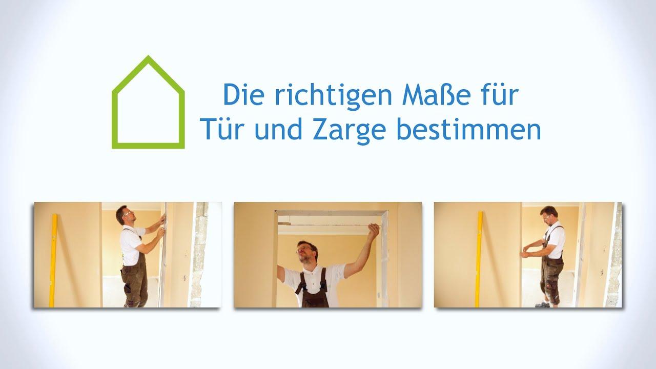Die richtigen Maße für Tür und Zarge bestimmen | casando Ratgeber ...