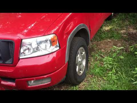 Ford F150 Front seat removal including center rest