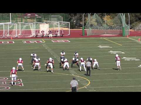 Derek Hunter 2012 Highlights Games 1-4 TE/LB/DE