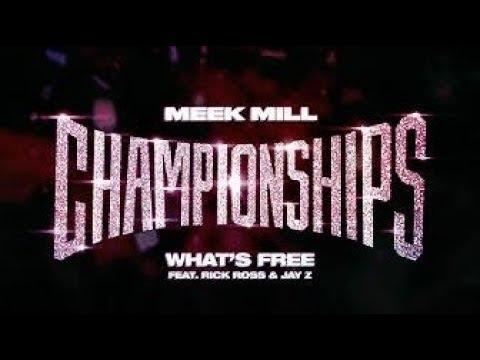 Meek Mill  ft. Rick Ross & JAY Z Whats Free (Instrumental)