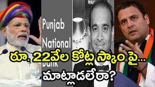 PNB scam : Rahul Gandhi Questions Modi