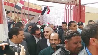 العصار في طابور التصويت على التعديلات الدستورية:  المصريون في عينينا