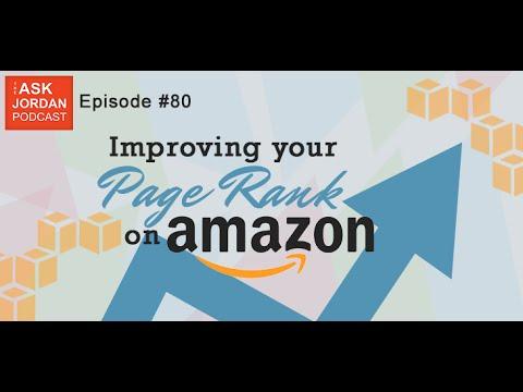 Ep. 80 -  Improving your item's ranking on Amazon