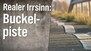 Realer Irrsinn: Buckelpiste in Husum