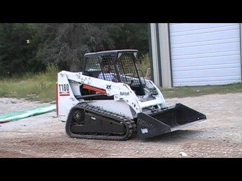2005 BOBCAT T180 RUBBER TRACK SKID STEER FOR SALE