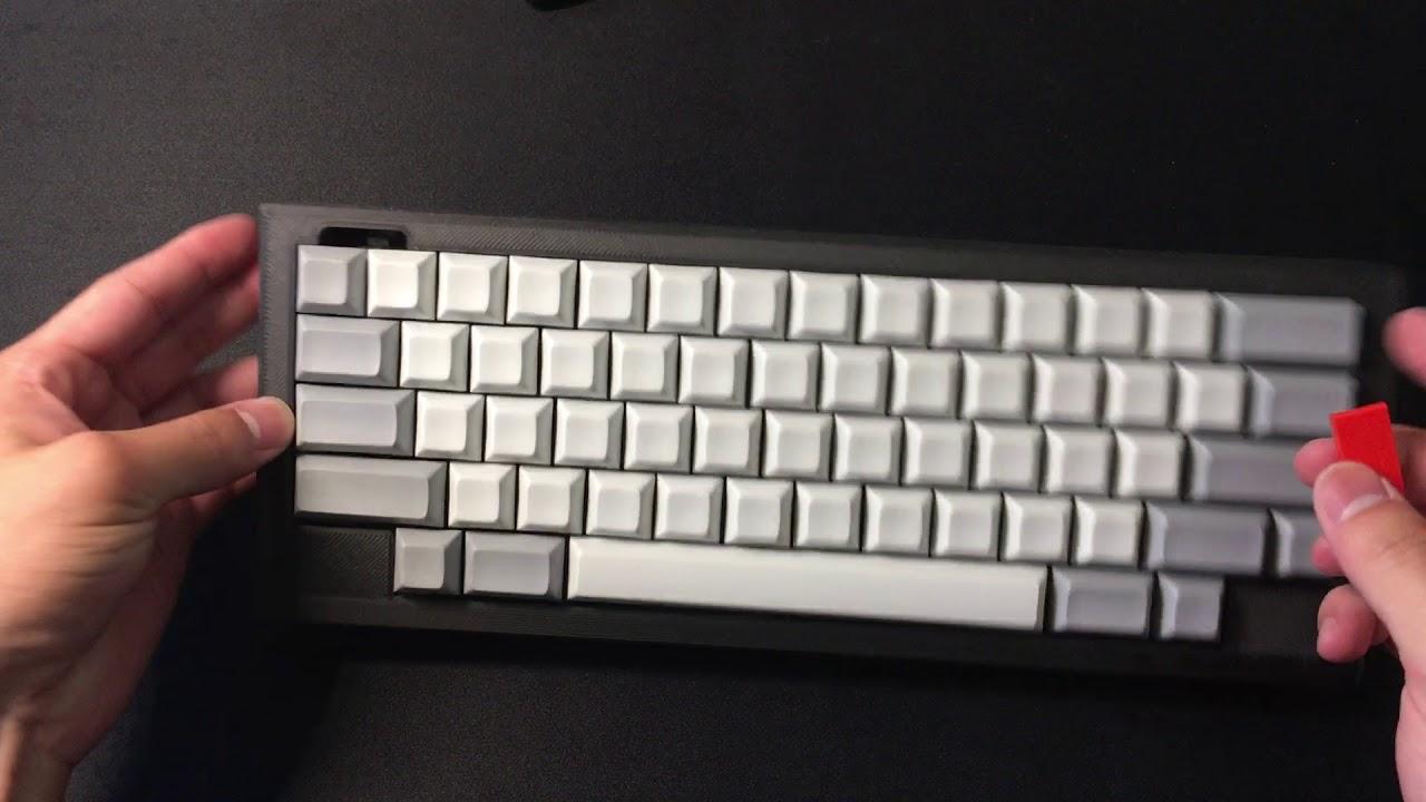 Stickerbomb Dz60 Mechanical Keyboard Build Log Hhkb Layout By