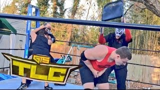 CRAZIEST TLC LADDER MATCH ON YOUTUBE EVER FOR THE GTS U.S. CHAMPIONSHIP!
