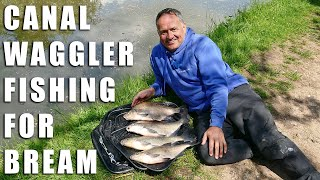 Canal Waggler Fishing for Bream
