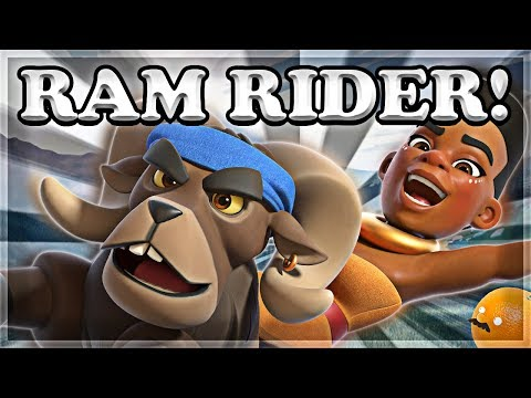 Ram Rider GAMEPLAY - FIRST LOOK & Strategy Speculation | Clash Royale