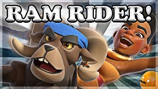 Sneak peek of the Ram Rider! There are leaks all over Reddit but we...