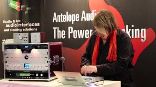Robert Babicz Live Performance - Antelope Audio Booth - Musikmesse 2014