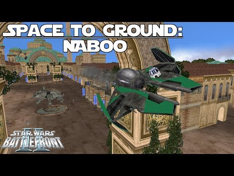 Star Wars Battlefront 2 | Space to Ground Map Pack | Battle for Naboo
