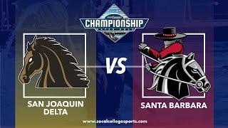 CCCAA Women's Water Polo 3rd Place Game: Santa Barbara vs San Joaquin Delta - 11/17/18 - 9:30am
