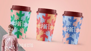 Pret A Manger Christmas Packaging | Rich Projects