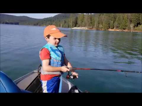 Best Day Fishing! Scotts Flat Reservoir, Nevada County, Ca.