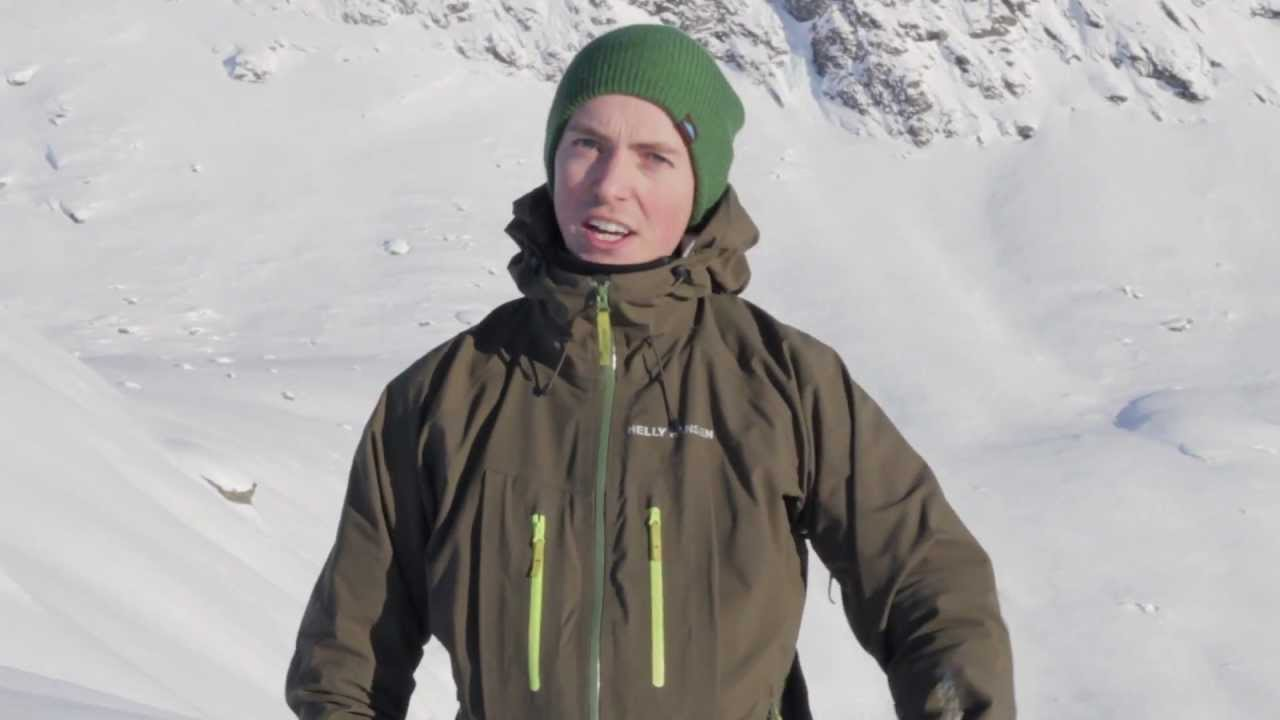 8ef8e7e61 Helly Hansen Verglas jacket review by Tore Frimanslund - YouTube