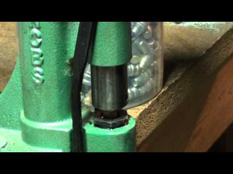 Cast Bullet Sizing and Lubrication - RCBS Lube-A-Matic Press