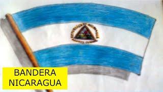 Como dibujar la bandera de nicaragua