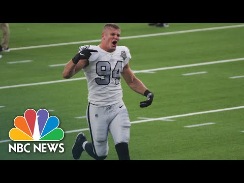 NFL Raiders Defensive End Carl Nassib Comes Out As Gay, Makes History