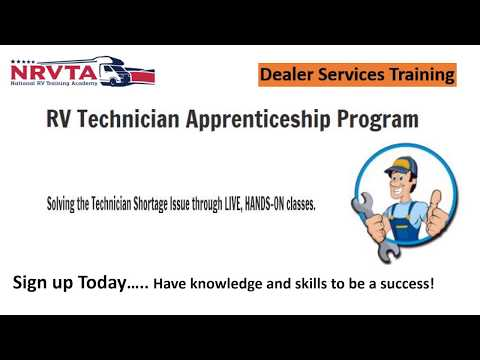 Dealer Technician Training - RV Maintenance Course