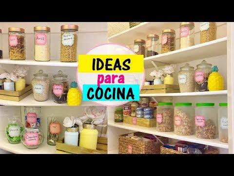 Ideas f ciles para organizar tu cocina alacena con poco for Como decorar una cocina