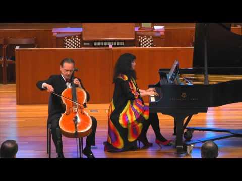 Prokofiev Cello Sonata in C, Mvt. 1 - David Finckel & Wu Han