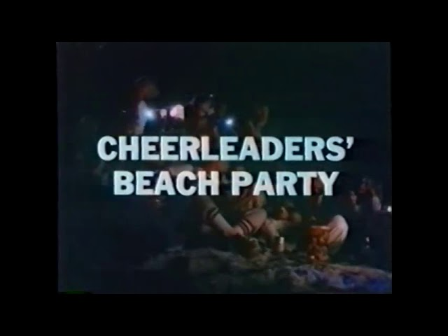 Cheerleaders Beach Party (1978) Trailer