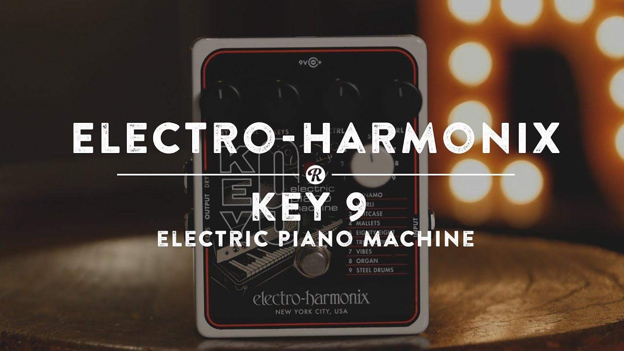 electro harmonix key 9 electric piano machine reverb demo video youtube. Black Bedroom Furniture Sets. Home Design Ideas