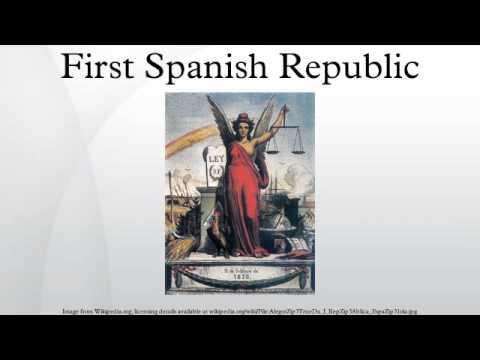 First Spanish Republic