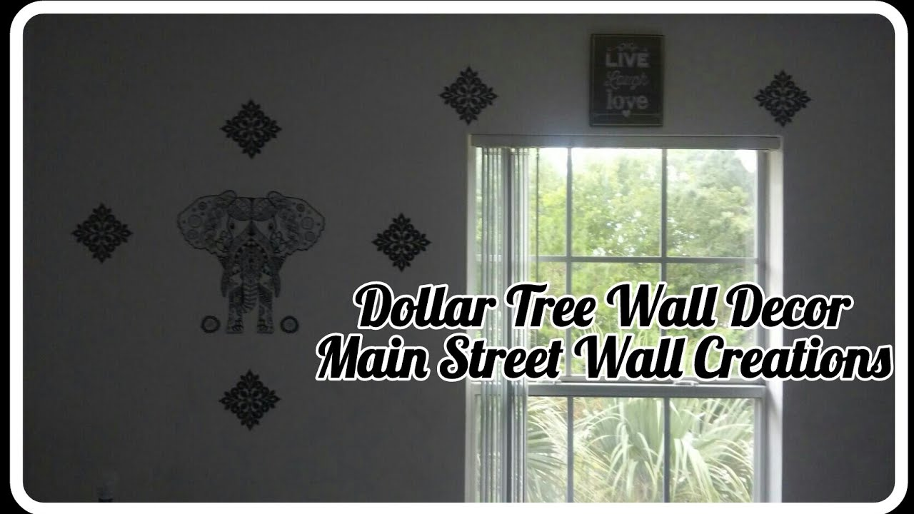 Dollar Tree Wall Decor (Main Street Wall Creations) Part 76