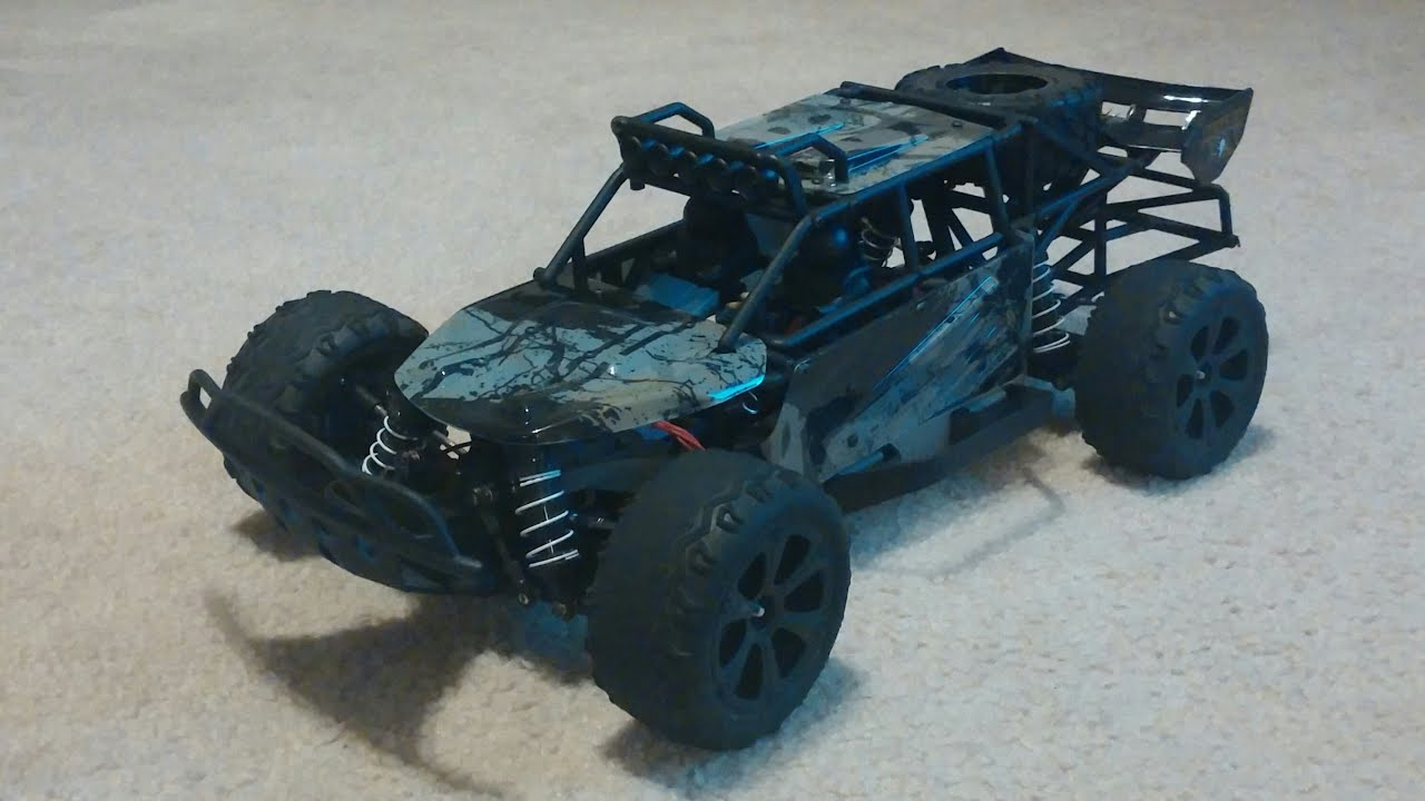 traxxas slash 4x4 desert buggy conversion final build [ 1280 x 720 Pixel ]