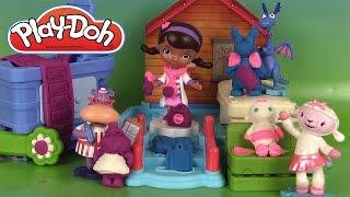 Docteur la Peluche Pâte à modeler Clinique du docteur Play Doh Doc McStuffins Clinic Playset