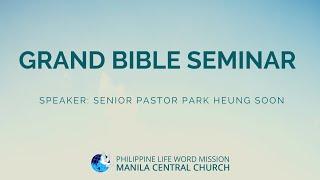 Download lagu Grand Bible Seminar