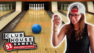 I tried NINTENDO BOWLING and DARTS - Clubhouse Games: 51 Worldwide Classics Gampeplay