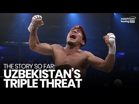 Triple Threat ���� Uzbekistan's Akhmadliev, Madrimov & Giyasov sweeping the pro ranks