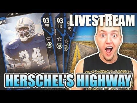 HERCHEL'S HIGHWAY WEEKEND LEAGUE STREAM! Madden 18 Ultimate Team