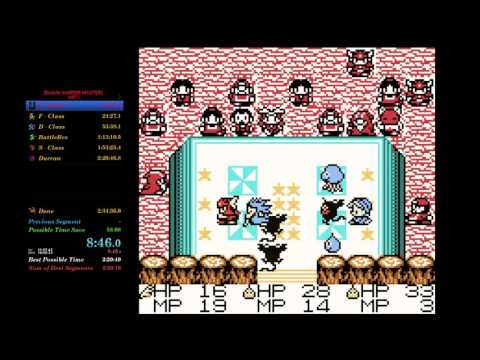 Dragon Warrior Monsters speedrun any% (RTA) in 2:29:04